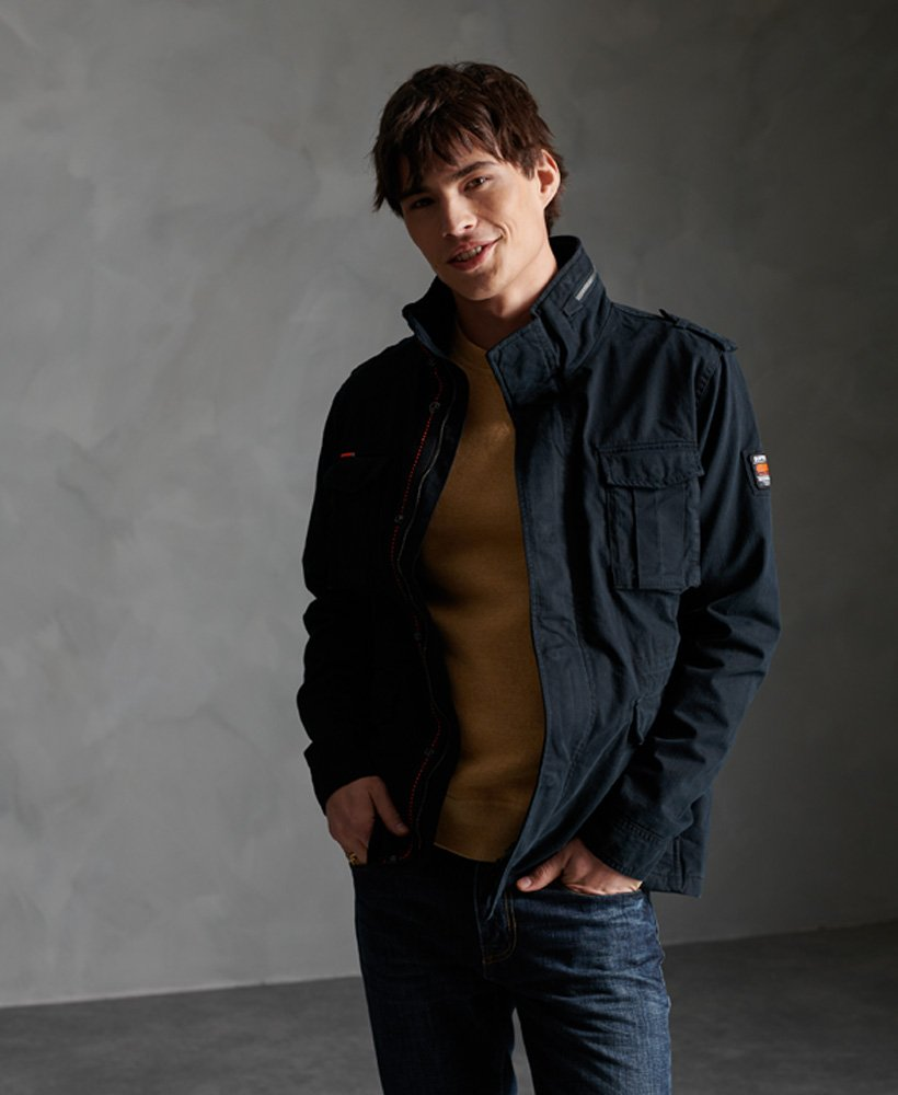 Classic rookie night shade jacket by Superdry