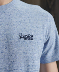 Organic Cotton Vintage Embroidery T-Shirt logo