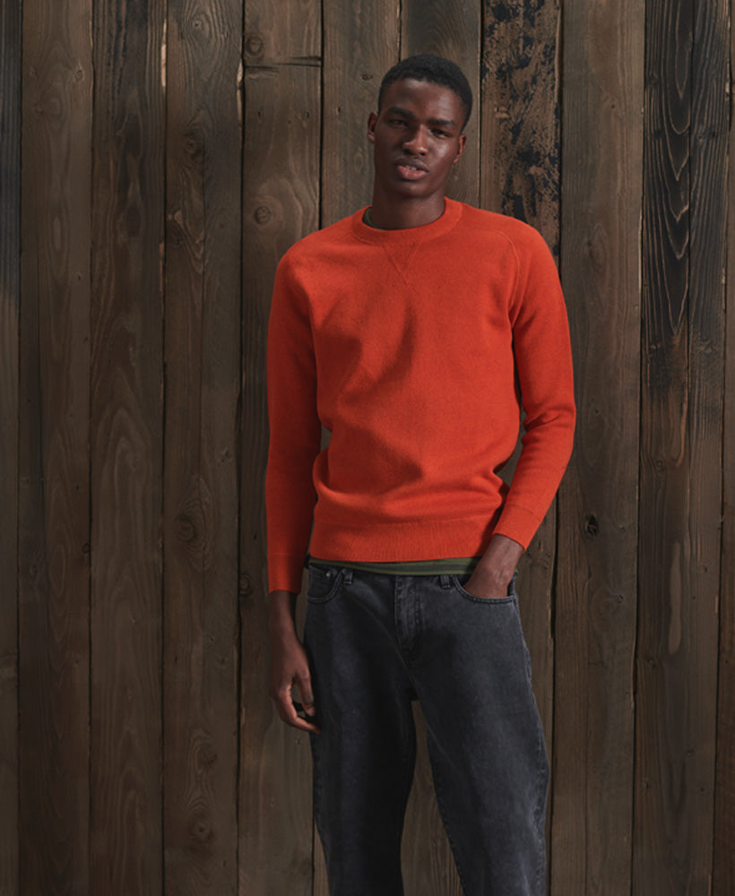 Essential Cotton Crew Jumper