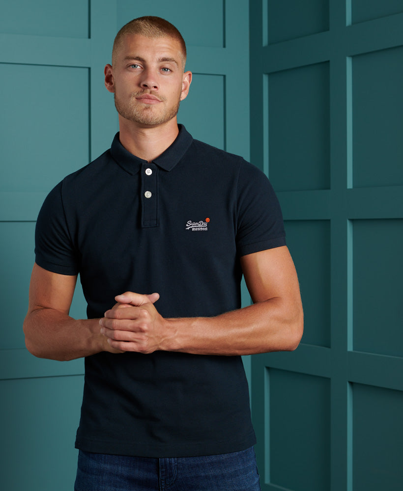 Organic Cotton Classic Pique Polo Shirt
