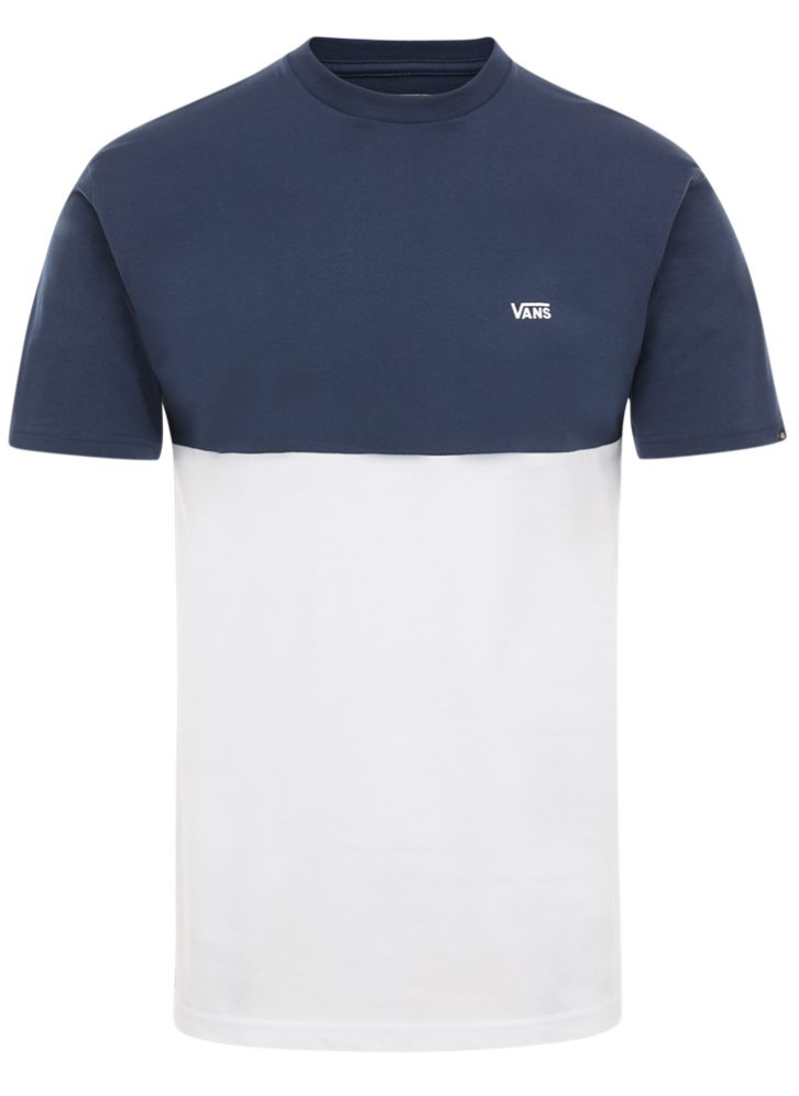 Vans Short Sleeve Colour Block Dress Blues Tee