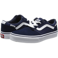 Vans YT Chapman Stripe Dress Blue Youths Trainer