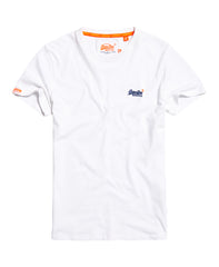 Orange Label Vintage White Emb S/S Tee
