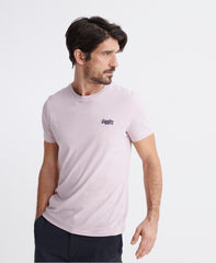 Orange Label Vintage Embroidered Chalk Pink T-Shirt