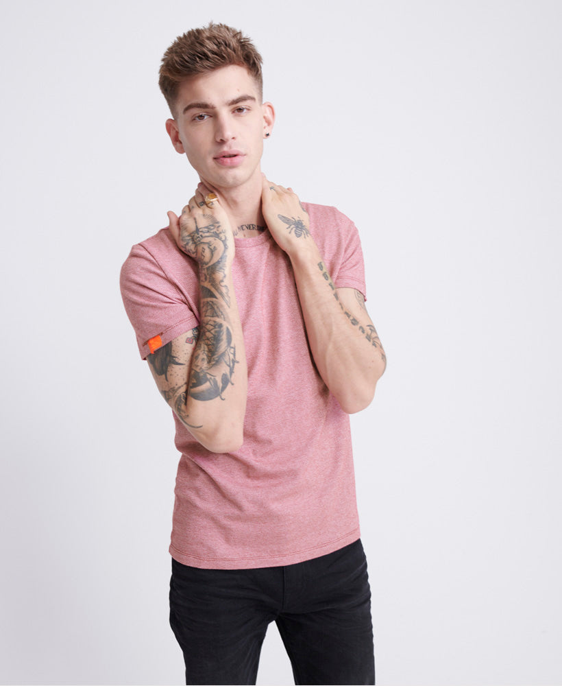 Orange Label Vintage Embroidered Red Twill T-Shirt