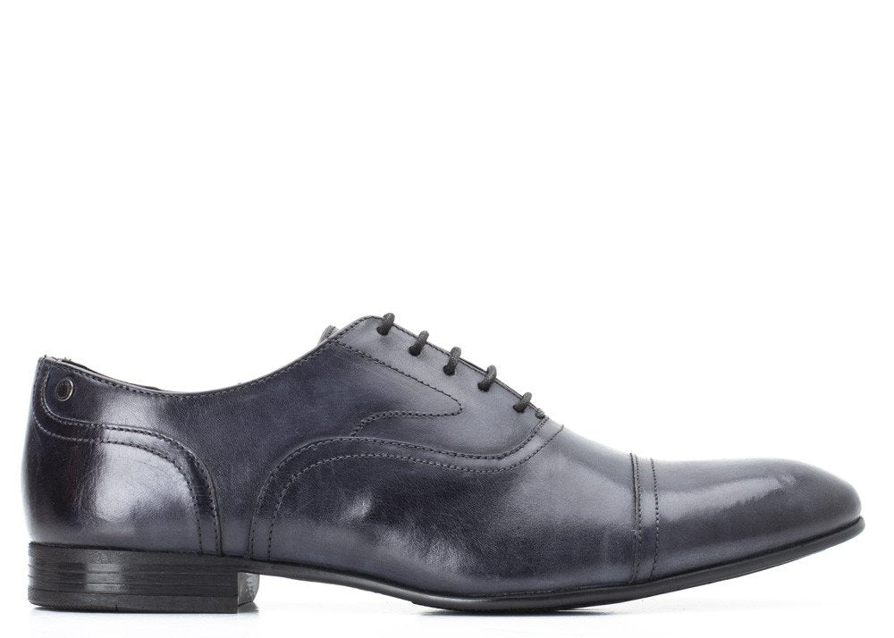 Navy Washed Viola Shoe by Base London