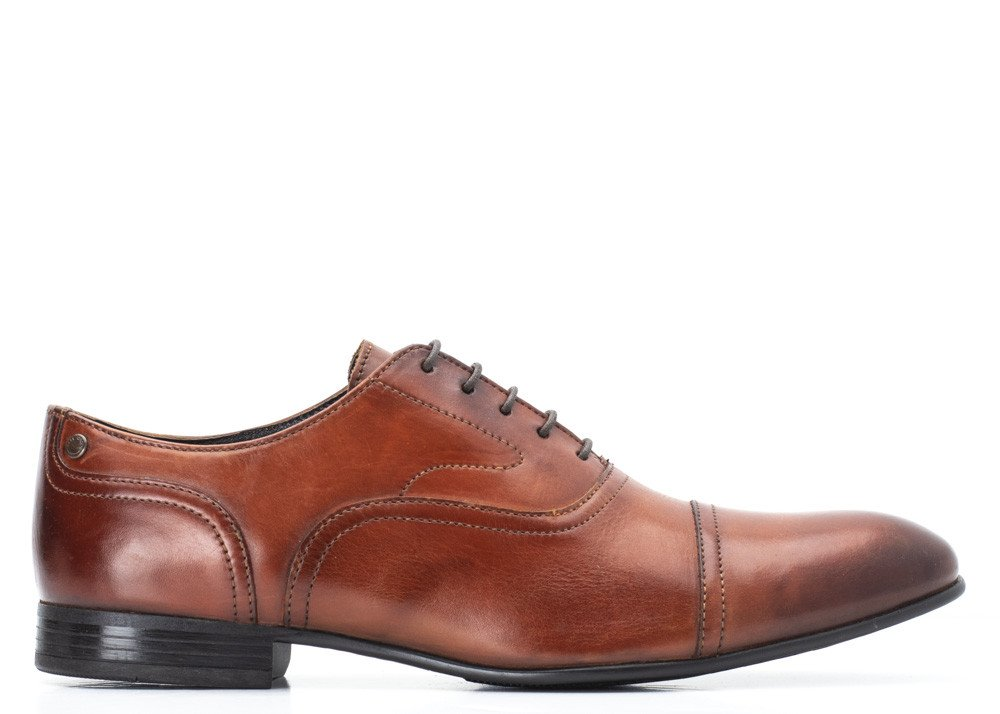 Tan Washed Viola Shoe by Base London
