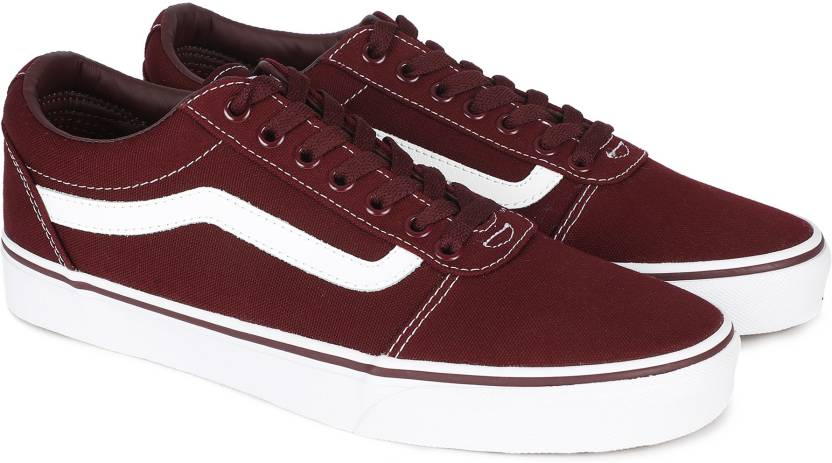 f09fd9980 Port Royale Ward White Canvas Trainer by Vans
