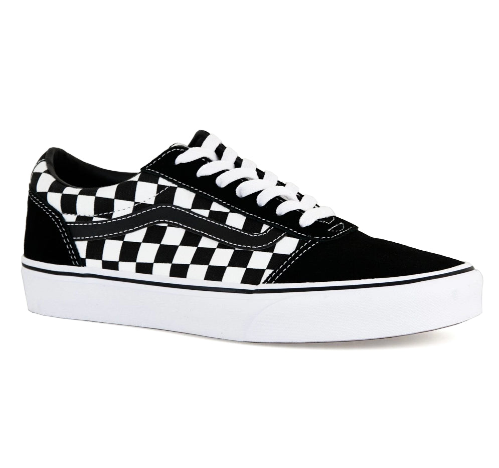 Ward Checkered Black/True White Trainer Youth