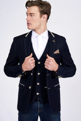 Will Denim Look Blazer By Marc Darcy