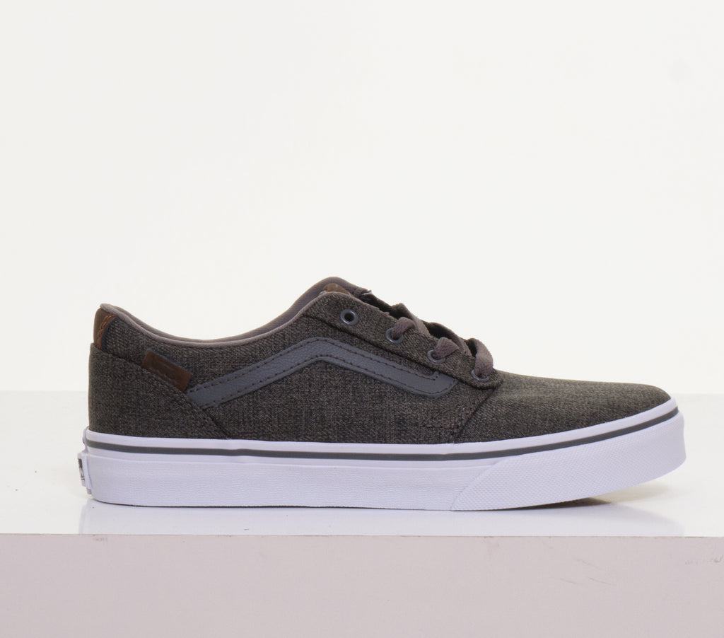 Chapman Stripe Pewter/White By Vans Youths