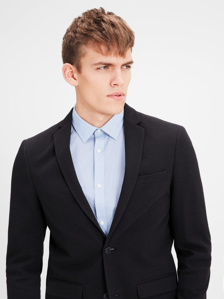 Zander Structured Blazer By Jack Jones Premium