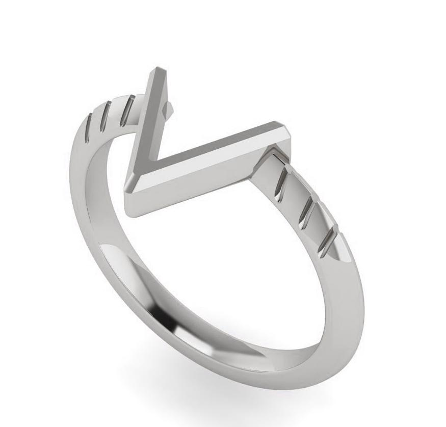 The TakenSeriously Ring - Silver