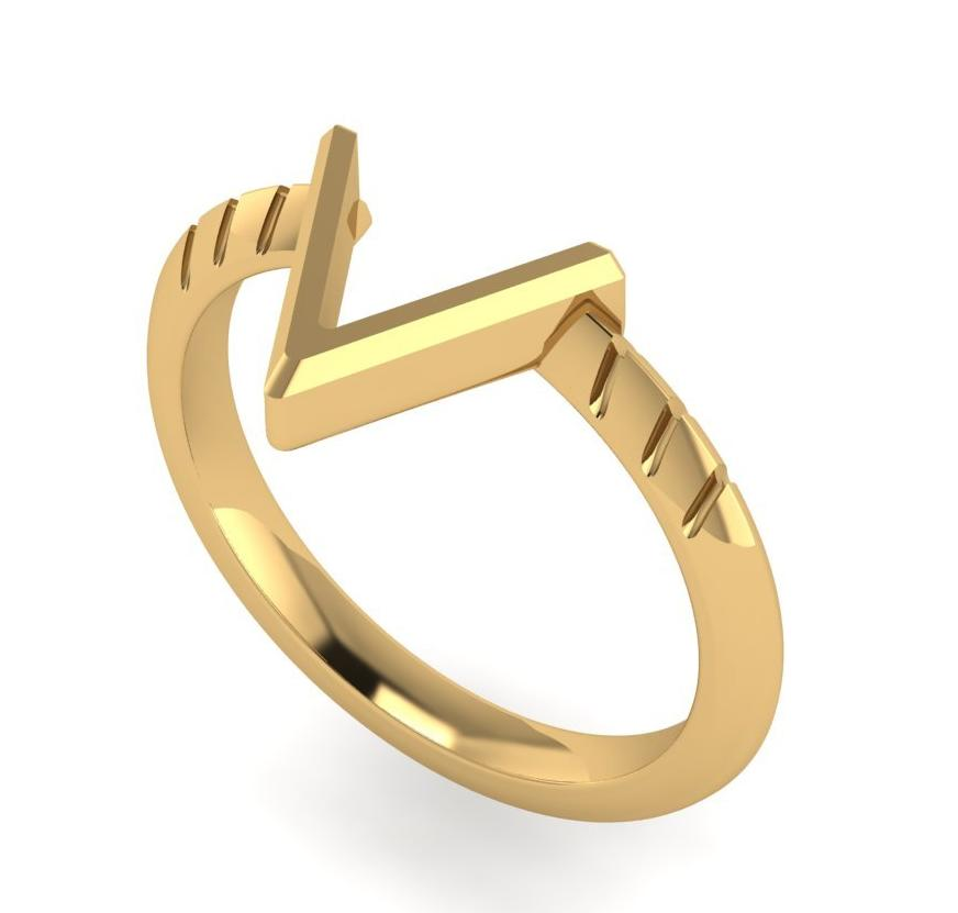 The TakenSeriously Ring - Gold