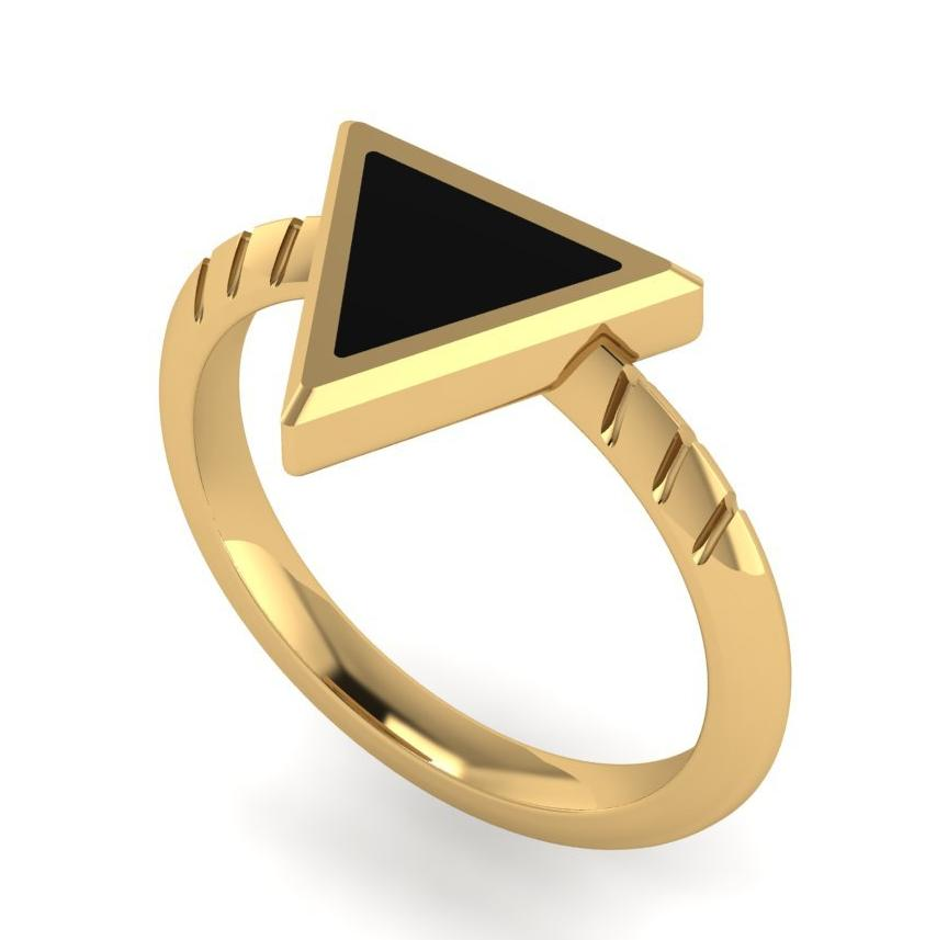 The SingleHandedly Ring - Gold
