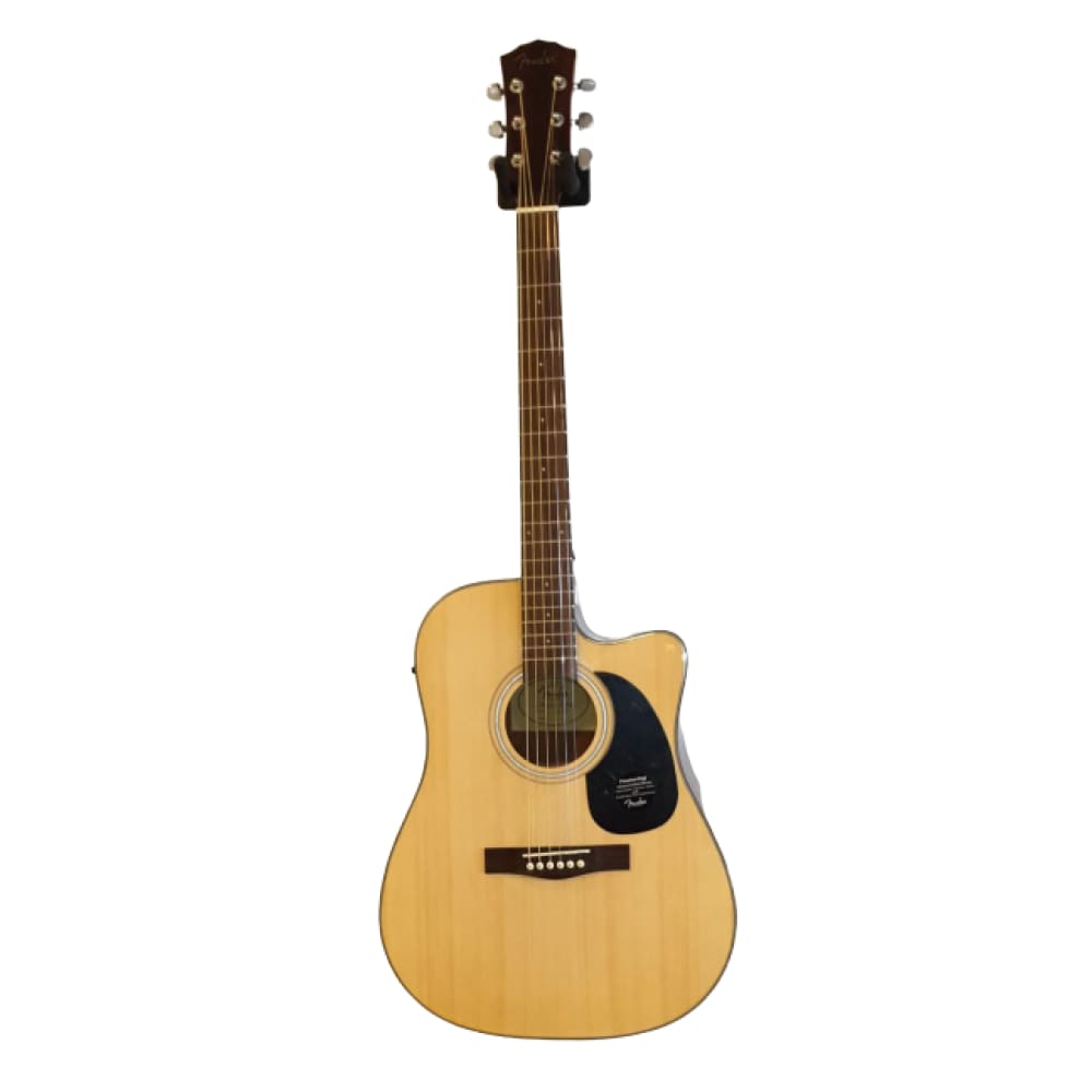 Acoustic guitar -Natural color-with equalizer - Fender - Hawamusical - Music Shop Instruments Lebanon