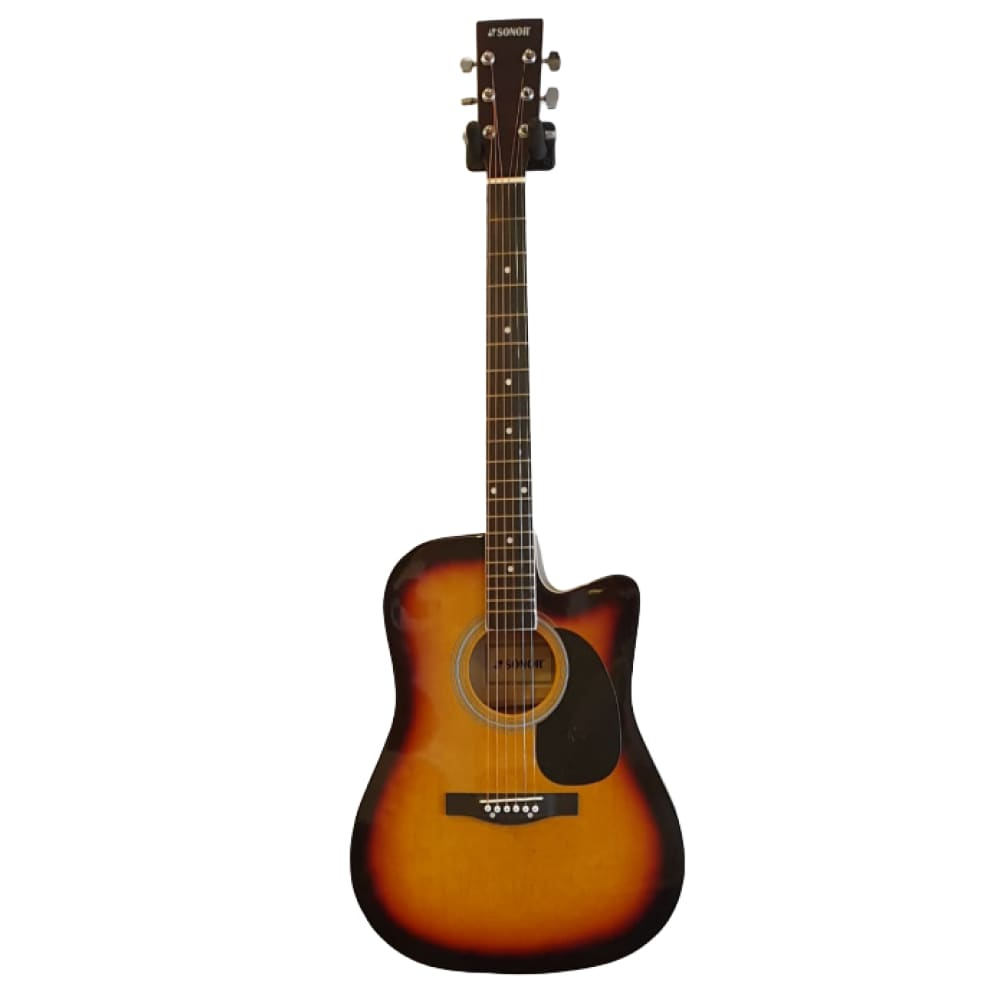 acoustic guitar-  with equalizer-brown sb-Sonor - Hawamusical - Music Shop Instruments Lebanon