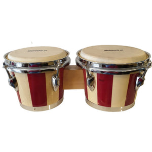 Bongo - Red & Natural - Sonor - Hawamusical - Music Shop Instruments Lebanon