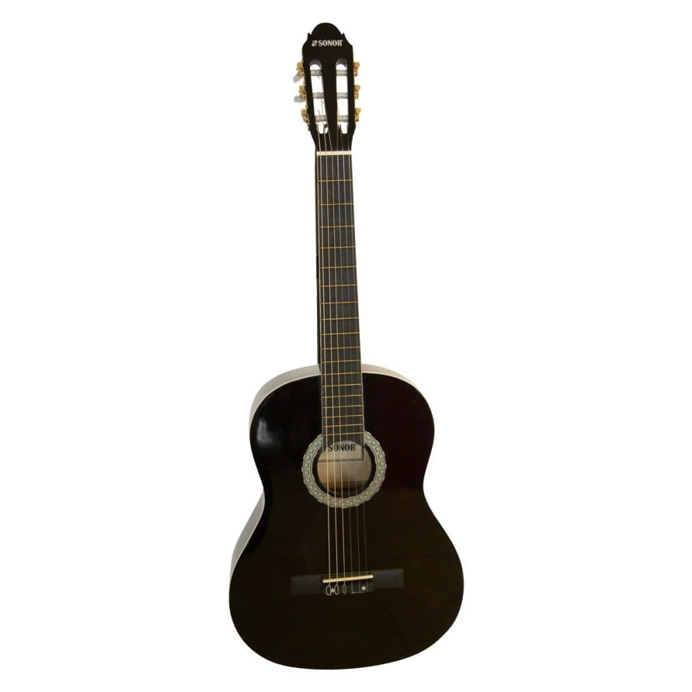 Classical Guitar -SNCG006 Black -Sonor - Hawamusical - Music Shop Instruments Lebanon