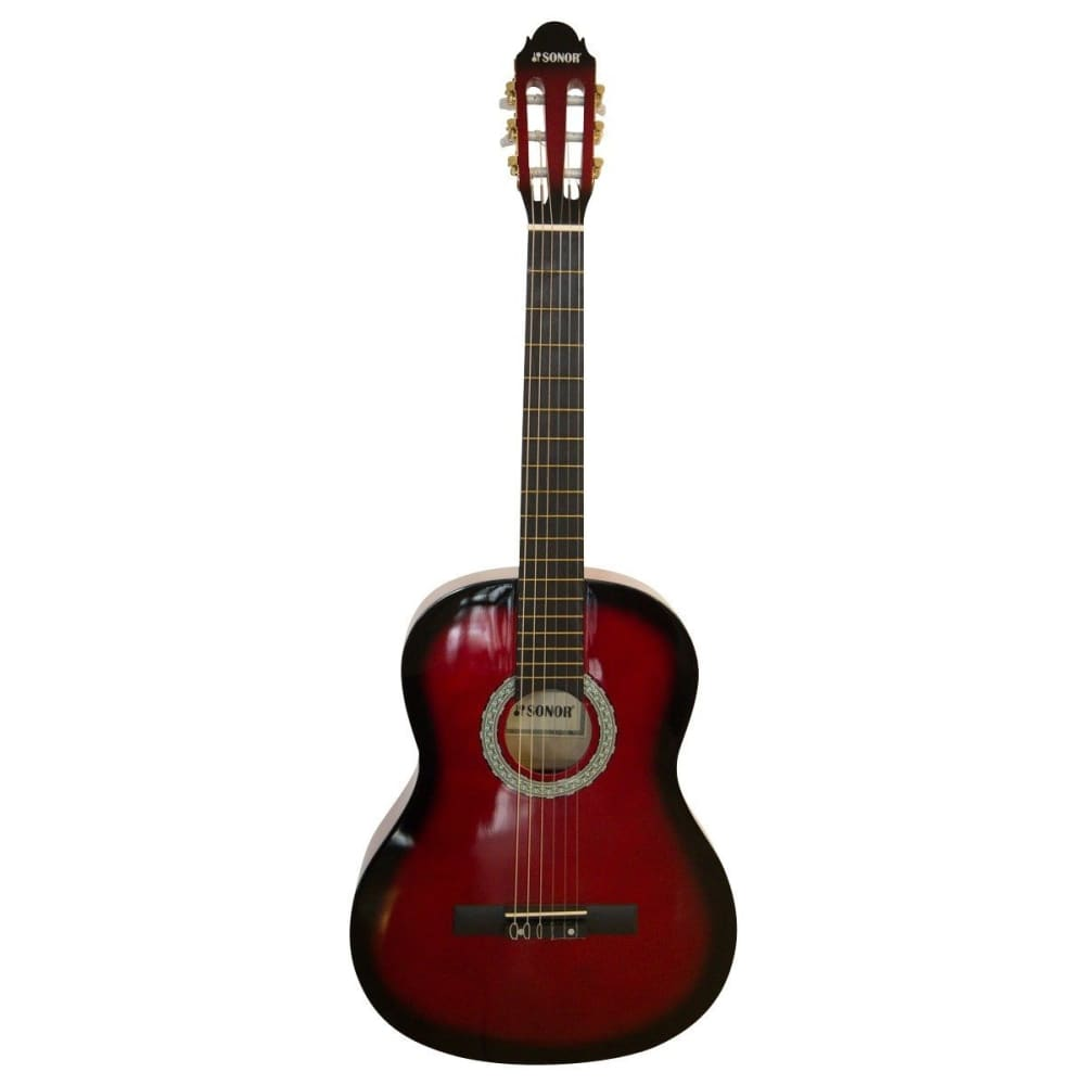 Classical Guitar - SNCG006-Red Sunburst - Sonor - Hawamusical - Music Shop Instruments Lebanon