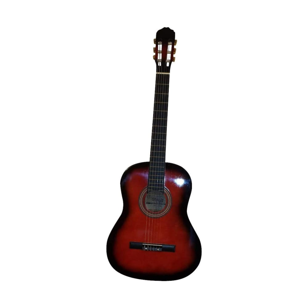 classical guitar- stagg- red sunburst - Hawamusical - Music Shop Instruments Lebanon