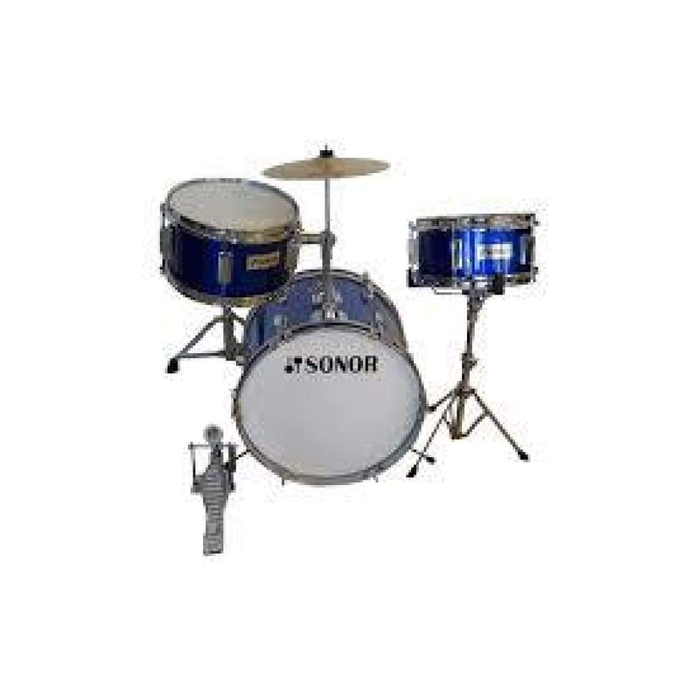 DRUM- JUNIOR- SN-J003 METALLIC BLUE (WITH PEDAL AND THRONE)