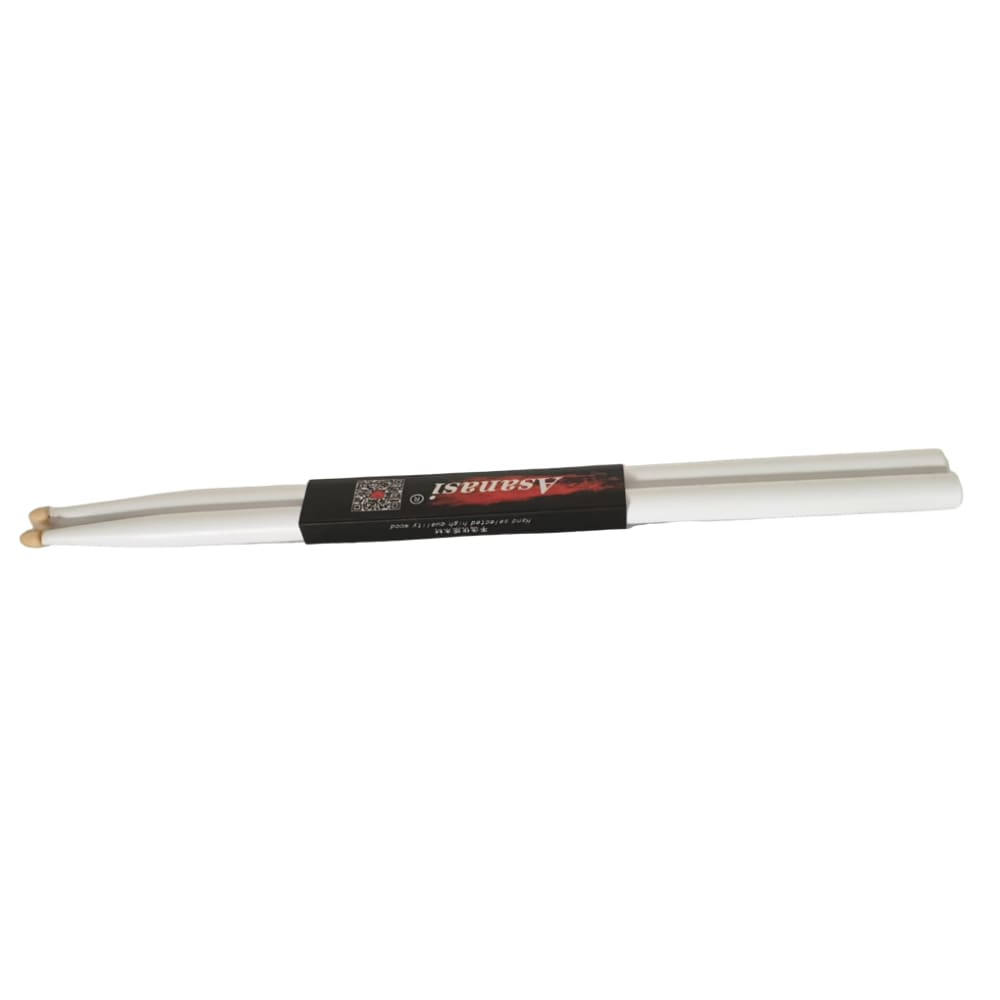 DRUM STICK- ASANASI- WHITE DRUMS ACCESSORIES INSTRUMENT