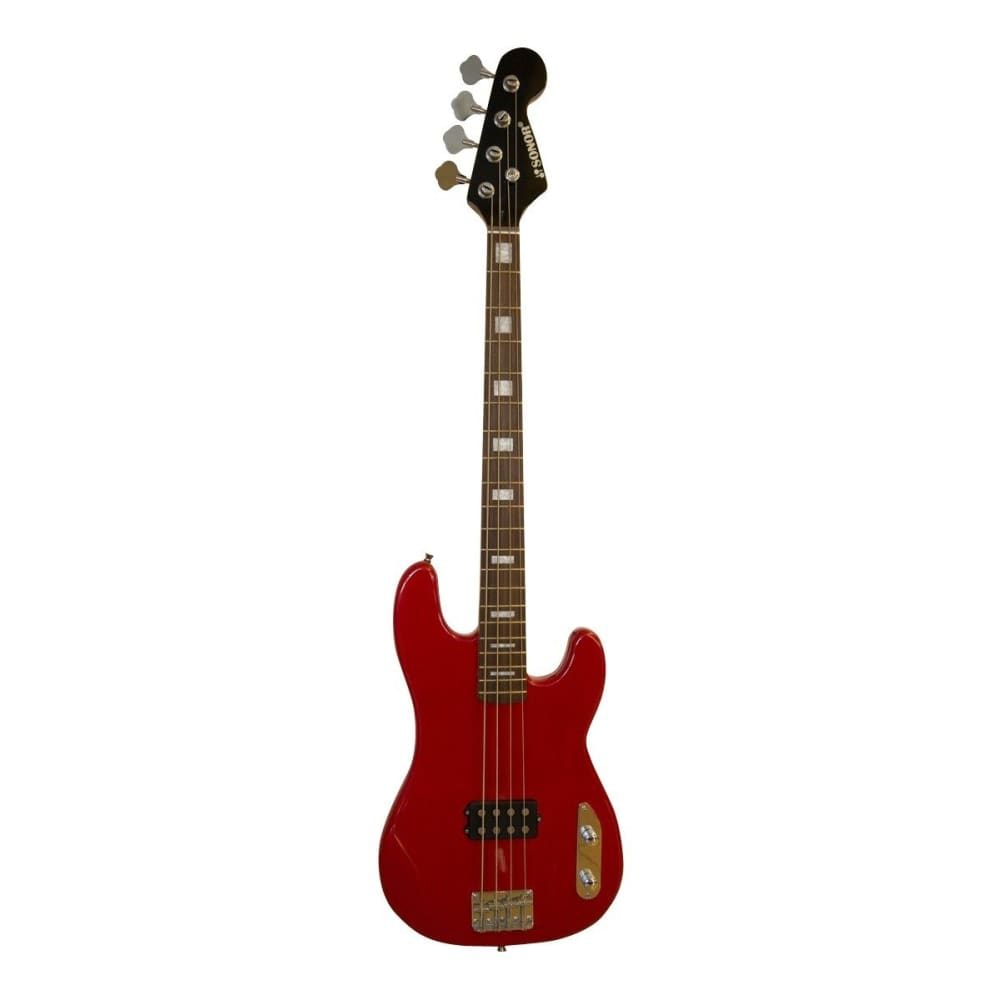 Electric Bass guitar package - Red - SNEB024 - Sonor - Hawamusical - Music Shop Instruments Lebanon