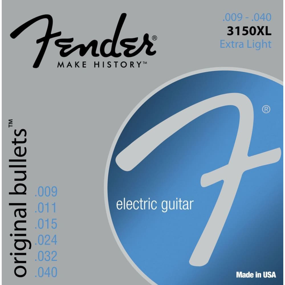 Electric guitar strings - Fender - Hawamusical - Music Shop Instruments Lebanon