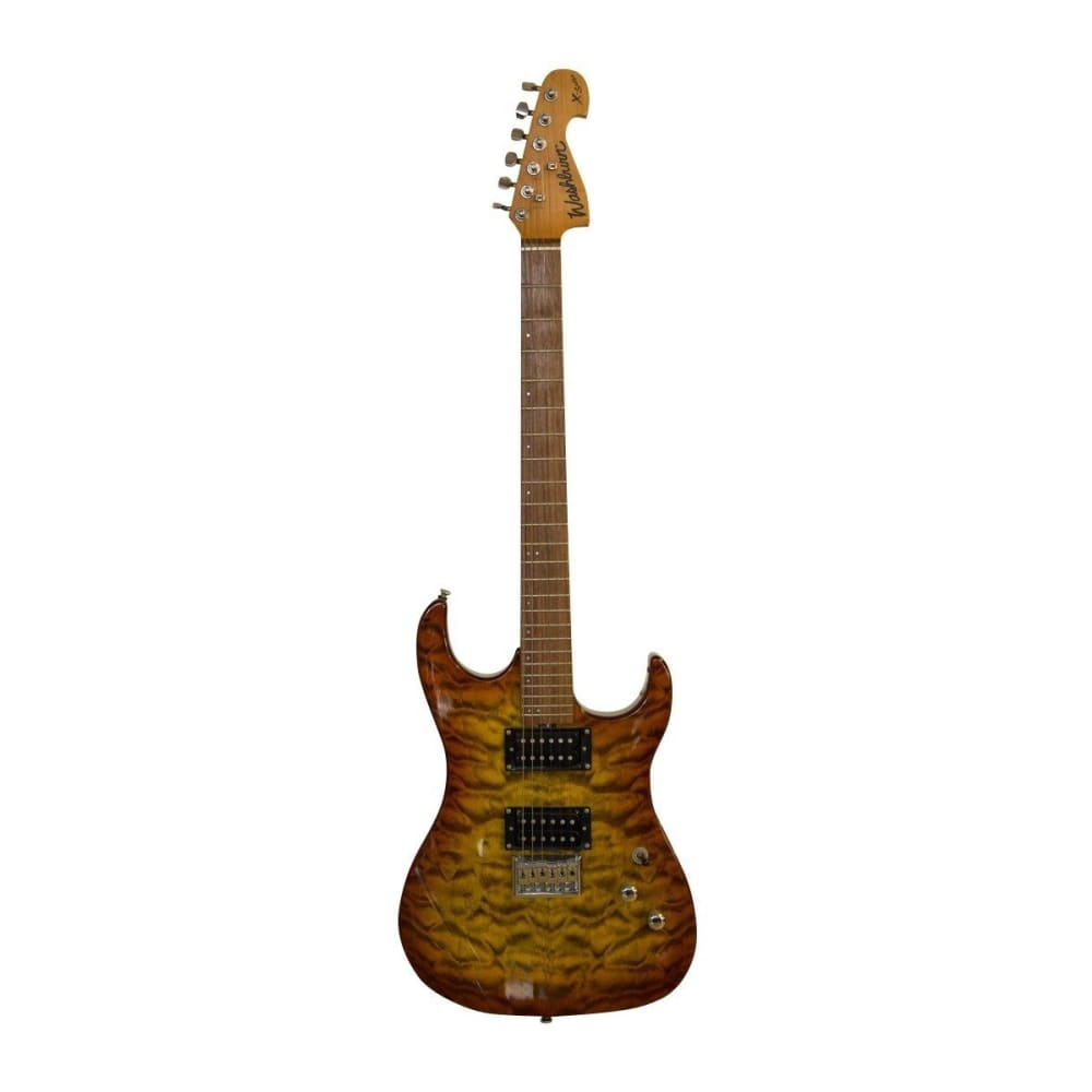 Electric guitar - Walnut laquer - Washburn - Hawamusical - Music Shop Instruments Lebanon