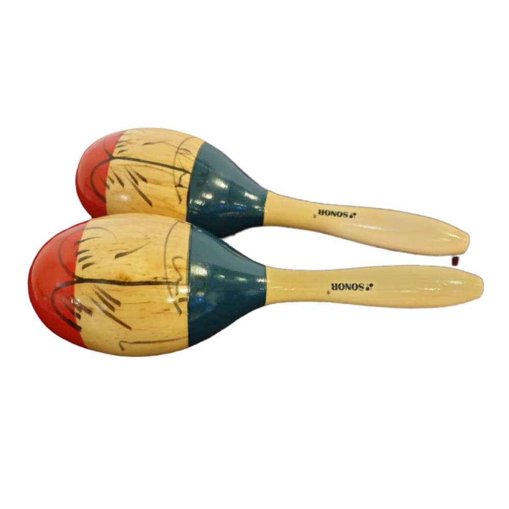 Maracas - Wood colored -Big size- Sonor - Hawamusical - Music Shop Instruments Lebanon