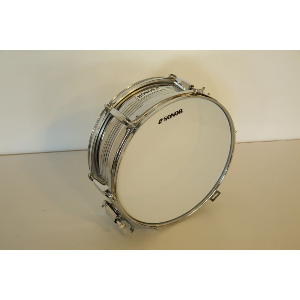 Snare drum - Silver - Sonor - Hawamusical - Music Shop Instruments Lebanon