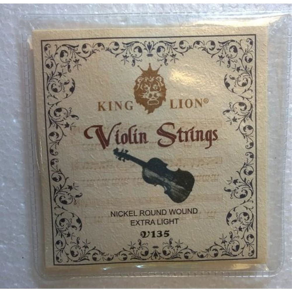 Violin strings - King Lion - Hawamusical - Music Shop Instruments Lebanon
