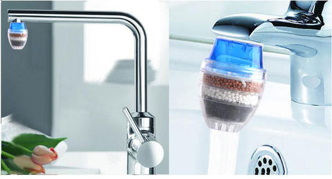 Faucet Activated Carbon Water Filter - Variety Genie