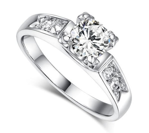 Prong Setting Wedding Ring - Variety Genie