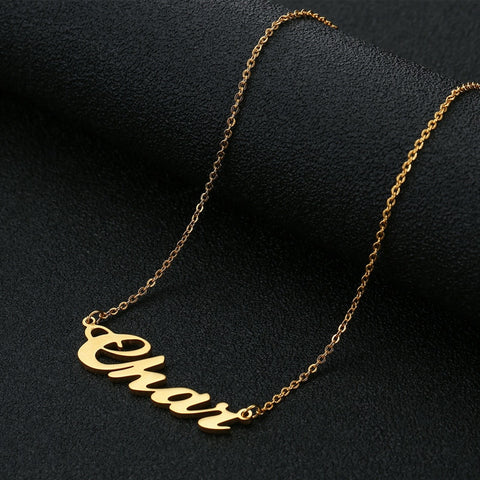 Personalized Name Women Necklace