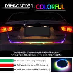 Car LED Trunk Strip Light