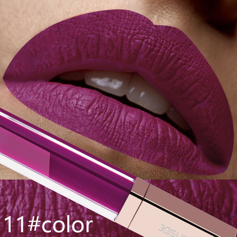 Waterproof 24 Color Make Up Liquid Lipstick