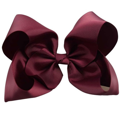 Kids Grosgrain Ribbon Bow With Clips