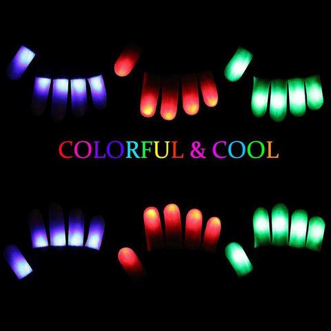 LED Finger Gloves - Variety Genie