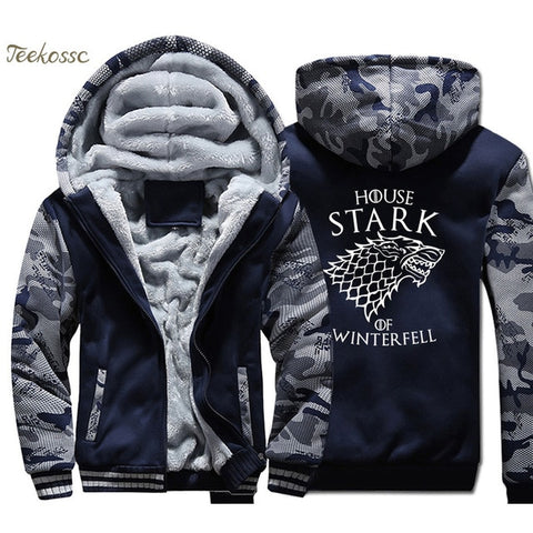 Men Movie Character Design Hooded Jacket