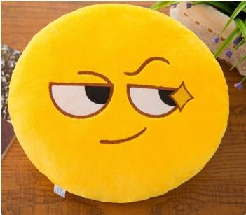 funny emoji smiley cushion decoration sofa plush pillow