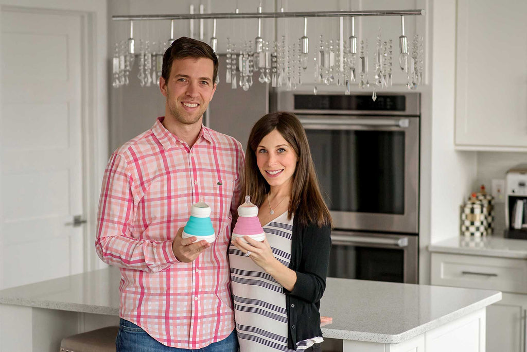 Inventors of the Collapsible Baby Bottle and Collapsible Sippy Cup