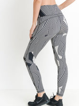 Zen print workout legging