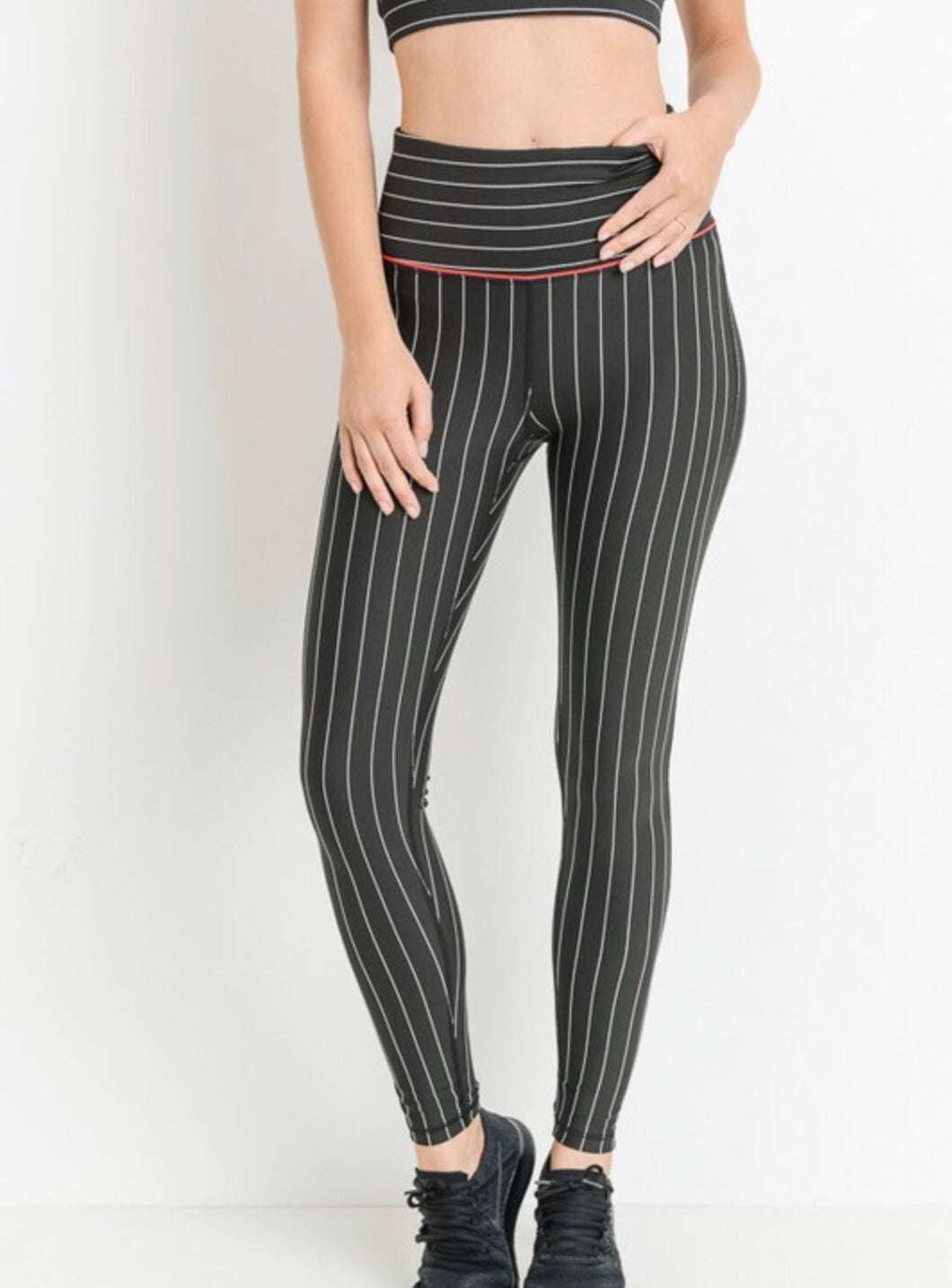Sleek high waisted workout pants