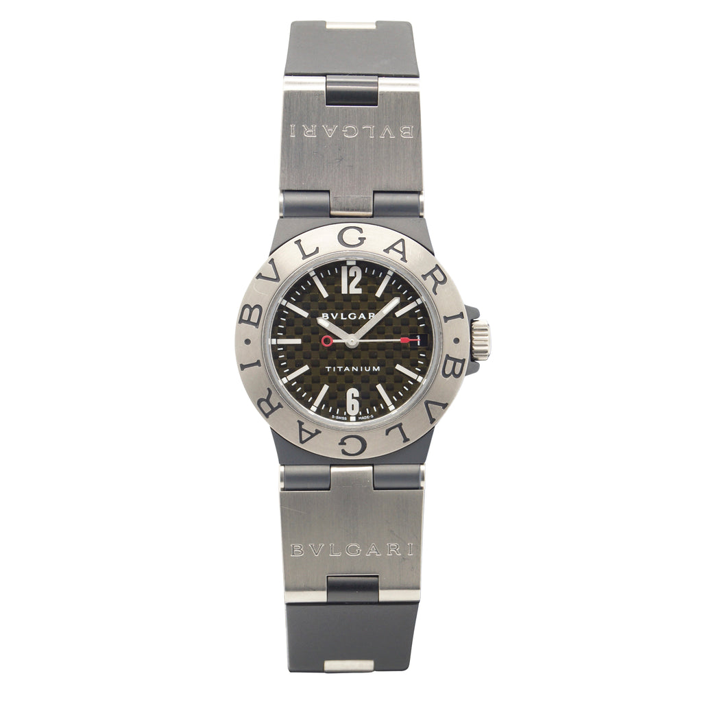 Bulgari Diagono Titanium TI 32 TA - Watch Square