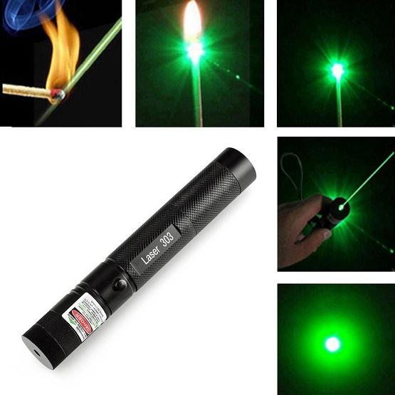 The Military Green Laser Pointer Pen