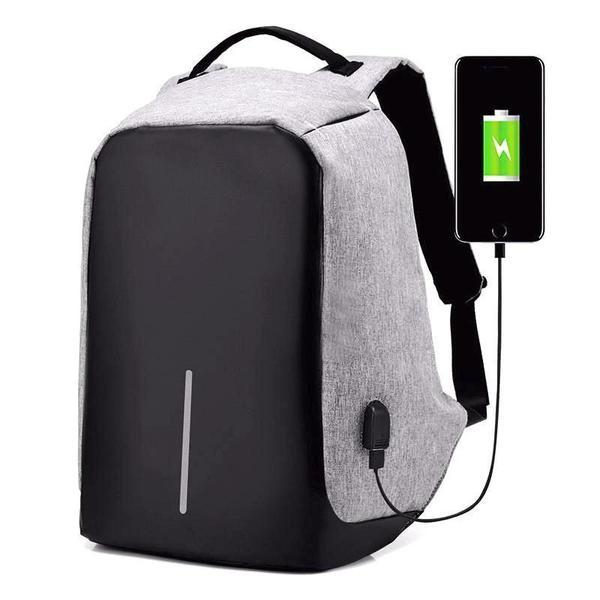 The Anti-Theft USB Charging Backpack
