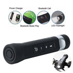 3-in-1 Bluetooth Speaker, Power Bank, and Flashlight (with Bike Mount)