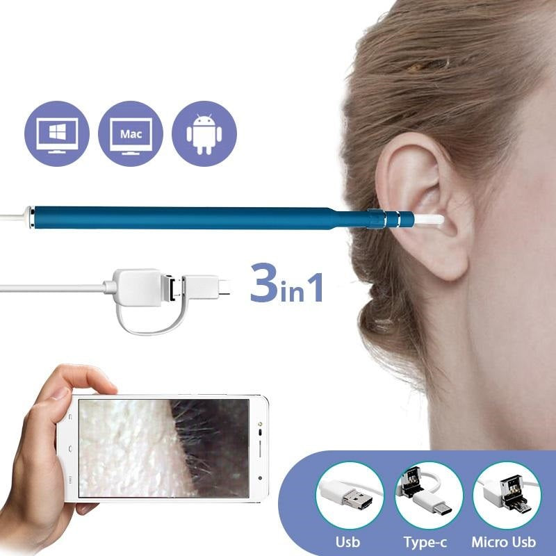 USB HD Endoscope Ear Wax Remover
